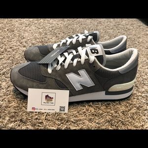 New Balance 30th Anniversary Made in USA Grey sz12